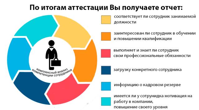 Аттестация сотрудников на соответствие занимаемой должности: как провести